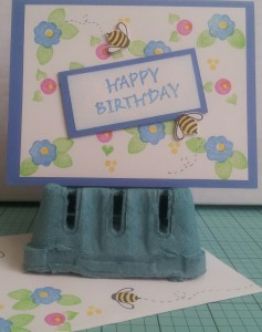 A favorite card of mine - made using older Posy sets from Stampin Up!