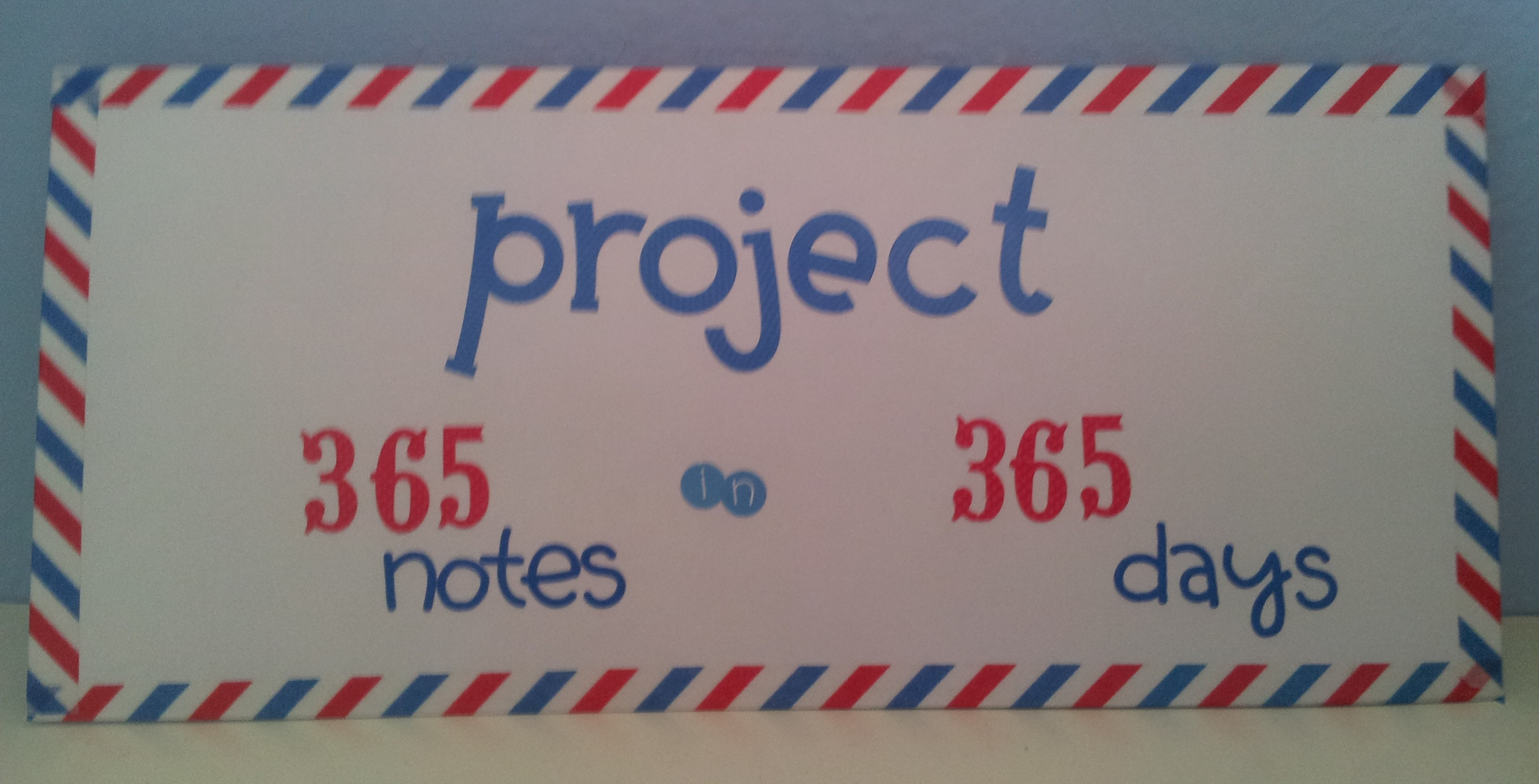 Project: 365 notes in 365 days | Daisies Girl