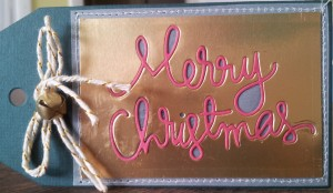 Christmas Word Tag