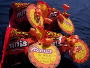 Here are the Reese's treats for Friday before bed!!