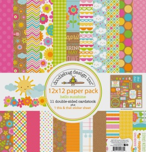 4689 hello sunshine paper pack