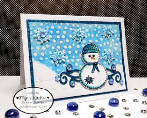 Paper Sweeties SpotlightSnowmanCard card Mynn