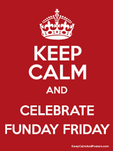 Funday Friday keep calm